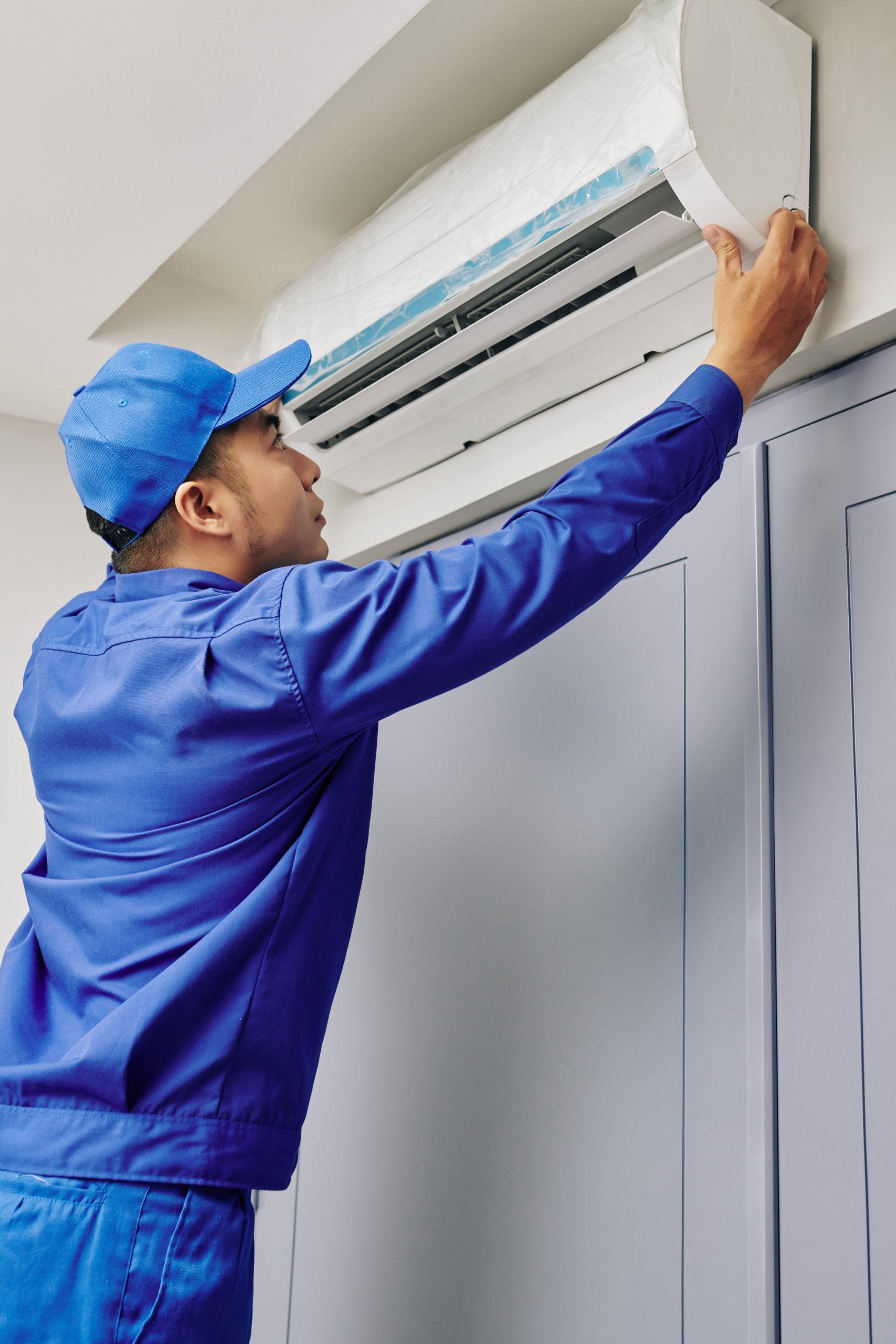 Installation climatisation par un professionnel